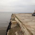 Набережная пристани, Саратовская обл, р/п Ровное, р. Волга